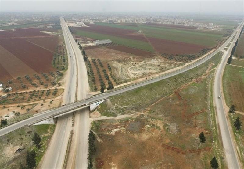 جاده بین المللی دمشق به حلب رسما بازگشایی شد